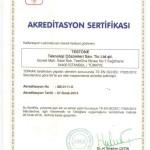 Akreditasyon Sertifikası