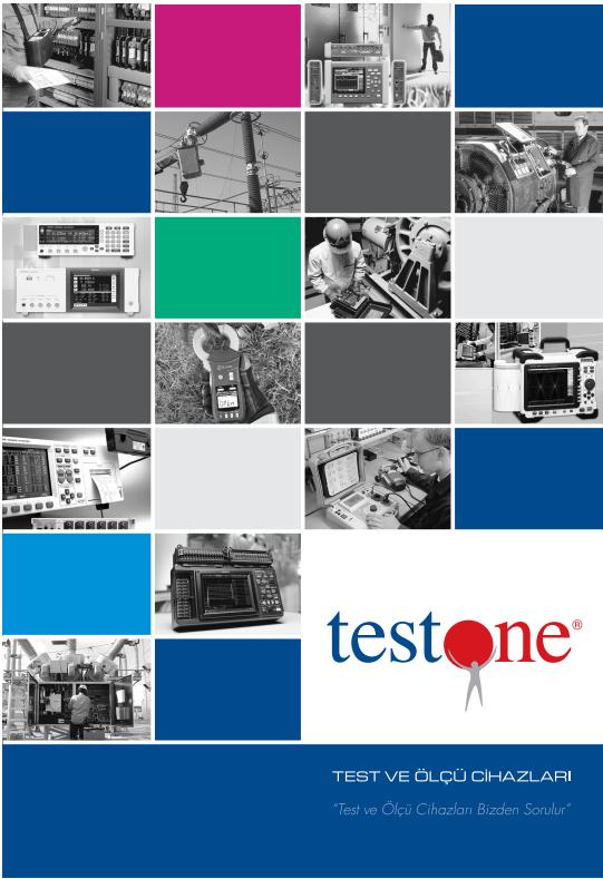 Test ve Ölçü Cihazları Kataloğu 2013