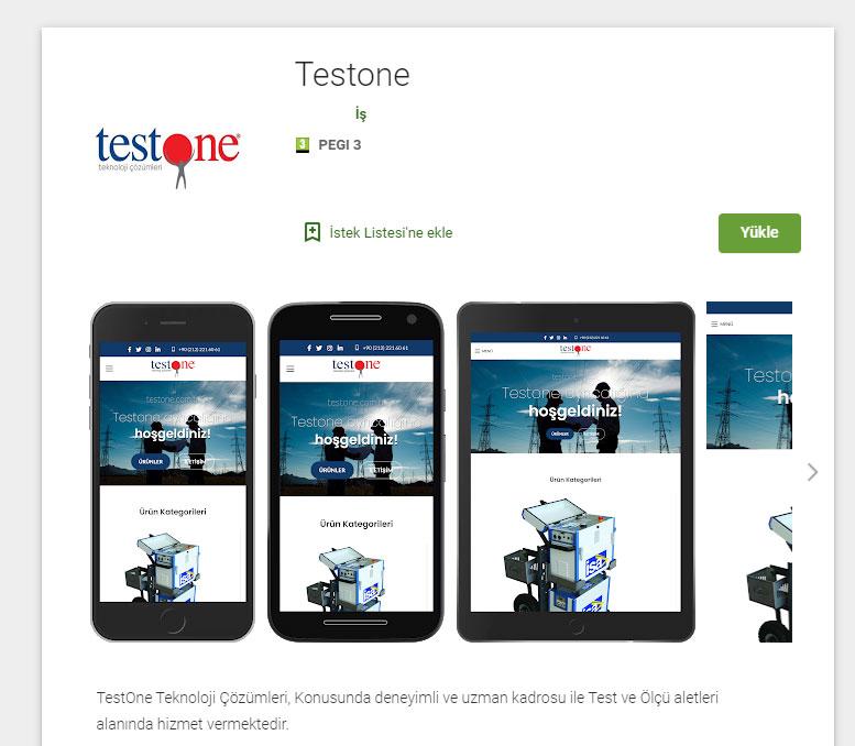 Testone Android Uygulaması