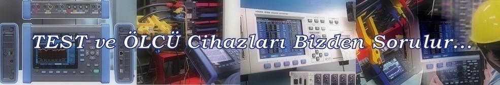 TestOne Multimetre, Osiloskop, Pens Ampermetre, İzolasyon Meğeri, Kalibratör, Ölçü aleti, Ohmmetre, Meger, Datalogger ve Termal Kameralar